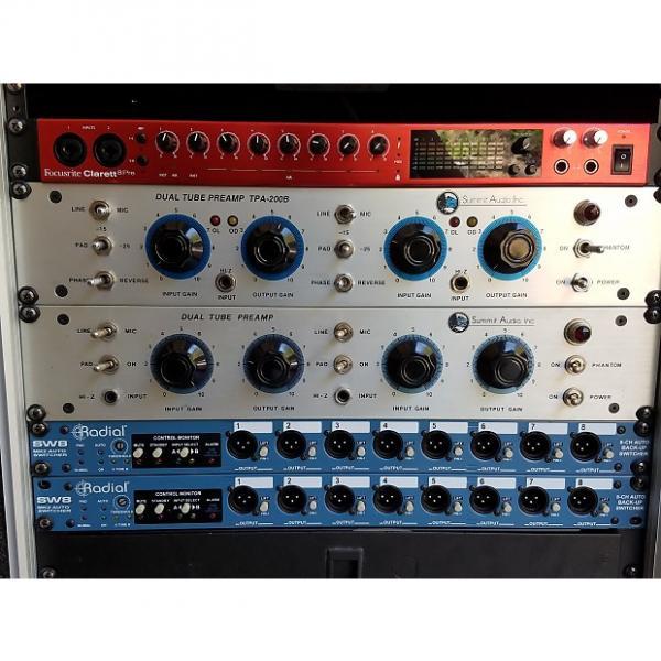 Custom Summit Audio TPA-200 Vintage Dual Tube Mic Pre - NICE! #1 image