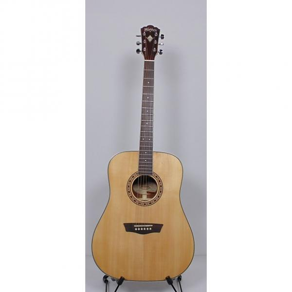 Custom Washburn  WD20S Acoustic Guitar 311629903 Natural #1 image