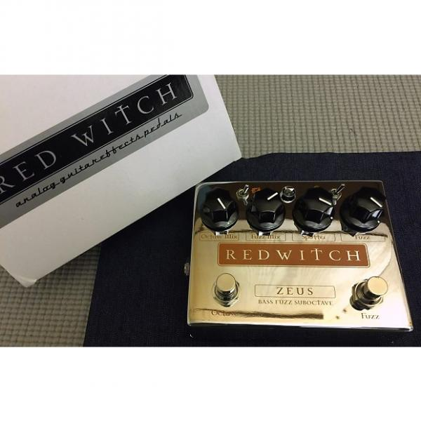 Custom Red Witch Zeus - Bass Fuzz Suboctave #1 image