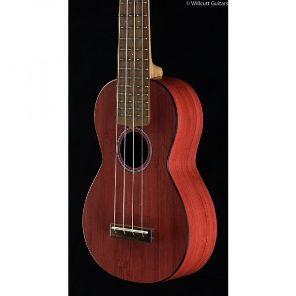 Custom Martin 0X Uke Bamboo Red Soprano (420) #1 image