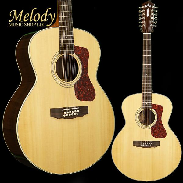 Custom Guild Westerly Collection F-1512E 12-String A/E Natural #1 image