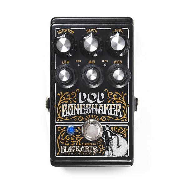 Custom DOD DOD Boneshaker Distortion NIB 2017 Black #1 image