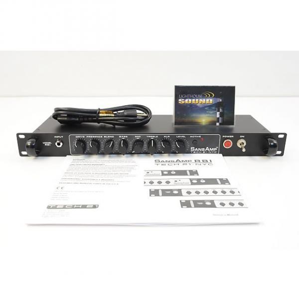 Custom Tech 21 SansAmp RBI Rackmount Bass Tube Amp Emulator / Preamp #1 image
