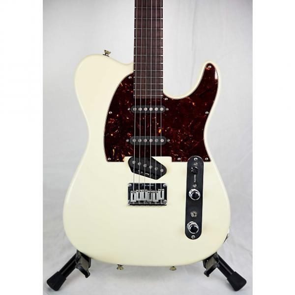 Custom Tom Anderson Short Hollow T Classic Olympic White #1 image