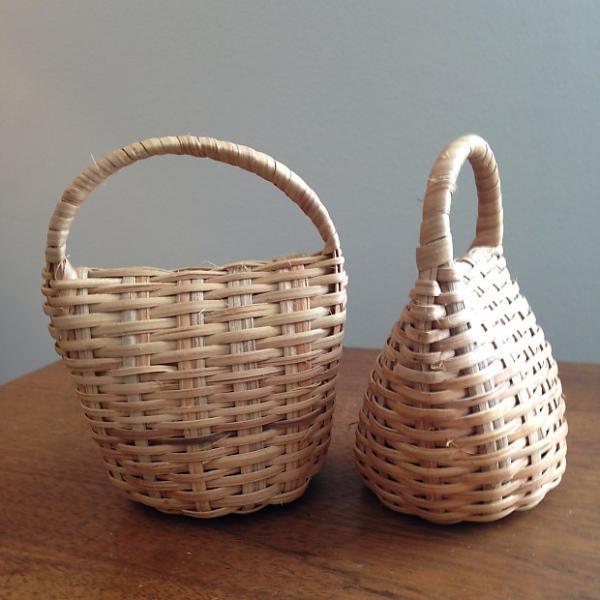Custom Basket Rattle, Handmade in Cameroon #1 image