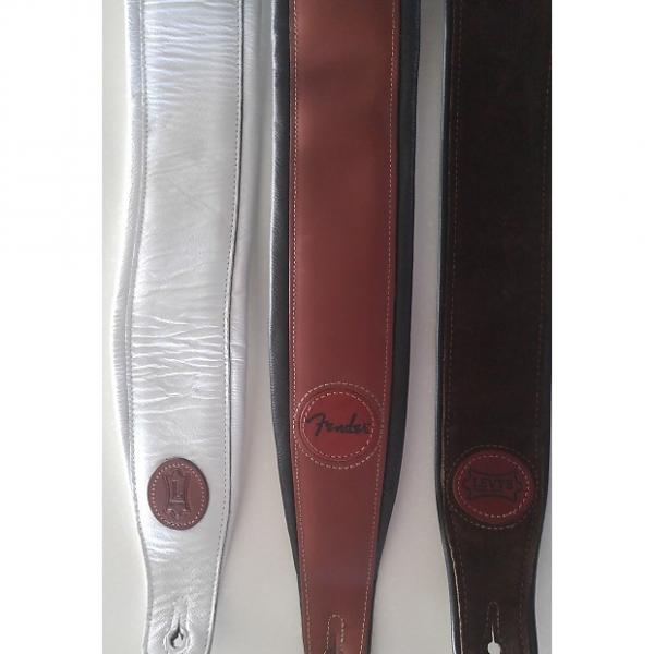Custom Levys various high quality leather straps unk white, brown #1 image