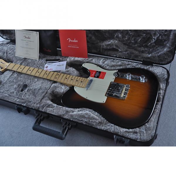 Custom 2017 Fender American Professional Telecaster - USA Tele - Ash Body - Sunburst #1 image