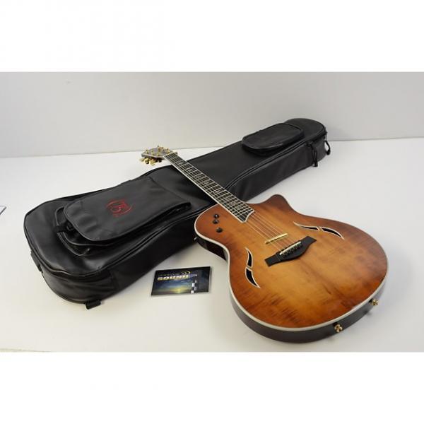 Custom 2010 Taylor T5-C2 Koa Electric Acoustic Guitar - Shaded Edges w/ Taylor Bag #1 image