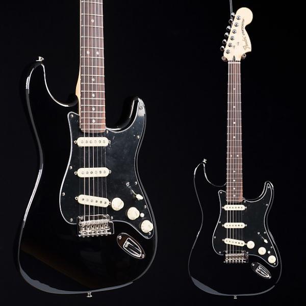 Custom Fender Deluxe Stratocaster Black 7928 #1 image
