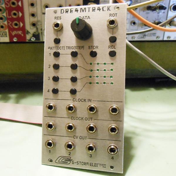 Custom G-Storm Electro DRE4MTR4CK Eurorack Sequencer Module (dreamtrack) #1 image