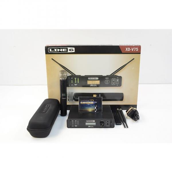 Custom Line 6 XD-V75 Digital Wireless Handheld Microphone System - In Box #1 image