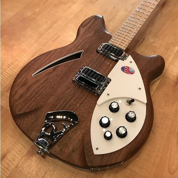 Custom Rickenbacker 360 12-string Electric Guitar 2017 Natural #1 image