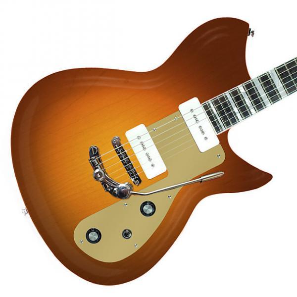 Custom Rivolta Guitars Combinata Deluxe Trem - Autunno Burst #1 image