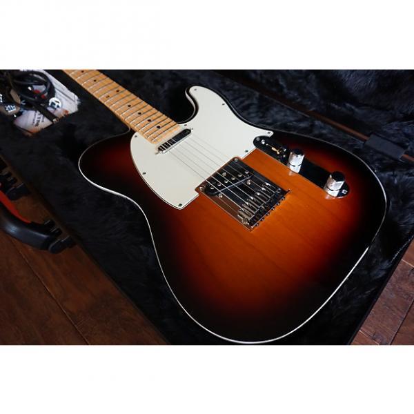 Custom Fender American Deluxe Telecaster 2015 - Sunburst - Mint #1 image
