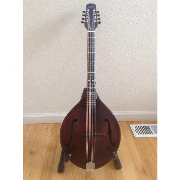 Custom Weber Gallatin Octave Mandolin 2016 Antique Brown #1 image
