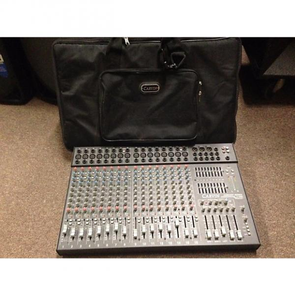 Custom Carvin C1600 Concert Series 16 Channel Stereo Studio Mixer w/ Gigbag #1 image