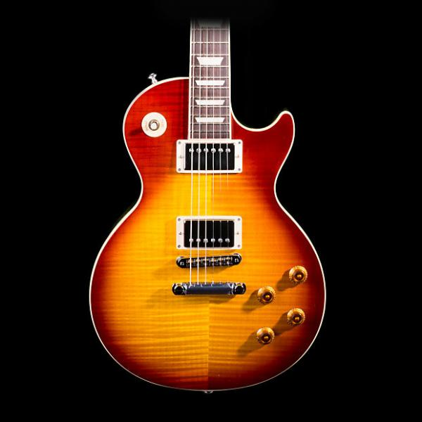 Custom Gibson Les Paul Standard 2016 Electric Guitar Tea Burst - Pre-Owned in Excellent Condition #1 image
