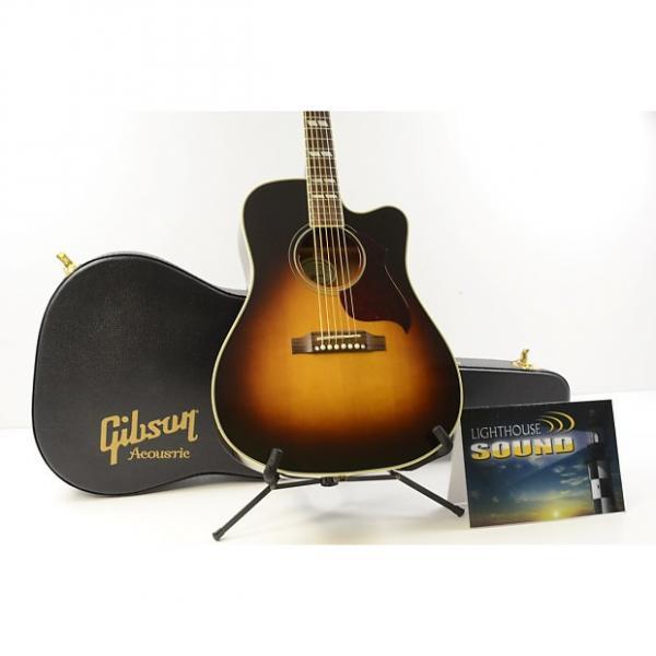 Custom 2013 Gibson Hummingbird Pro Acoustic-Electric Guitar - Vintage Sunburst w/OHSC #1 image