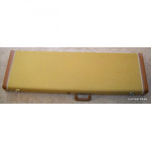 Custom Fender Deluxe Tweed Hardshell Jazz Bass Case - Fender's Best #1 image