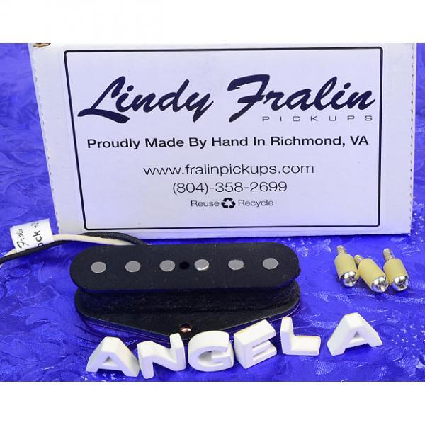 Custom Lindy Fralin Hybrid Magnet Stagger Vintage Style +2% Overwound Telecaster Tele Pickup Brand New #1 image
