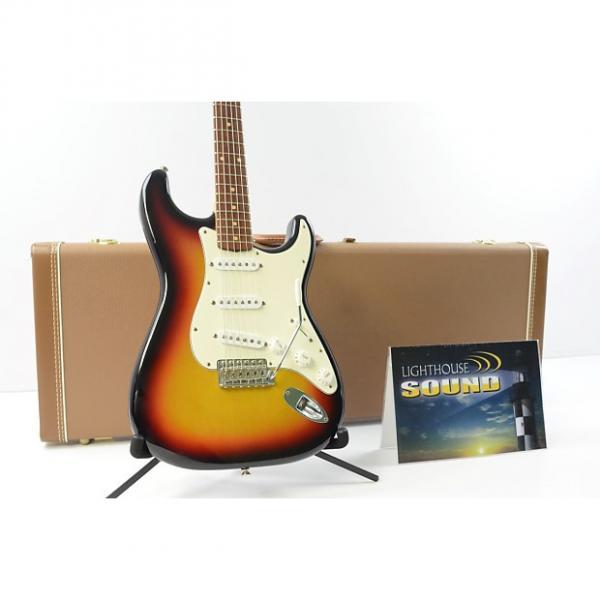 Custom 2000 Fender Custom Shop 1960 Stratocaster NOS Electric Guitar - Sunburst w/ OHSC #1 image