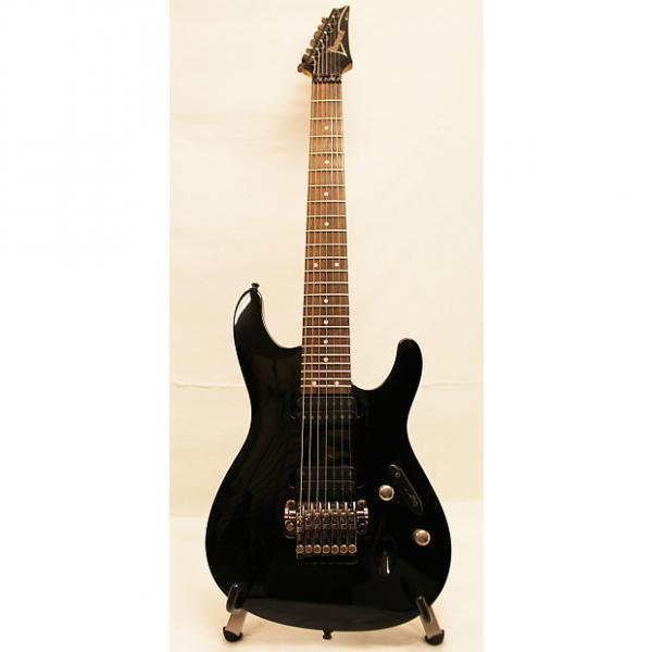 Custom Ibanez S7420 S Series 7-String Electric Guitar Black #1 image