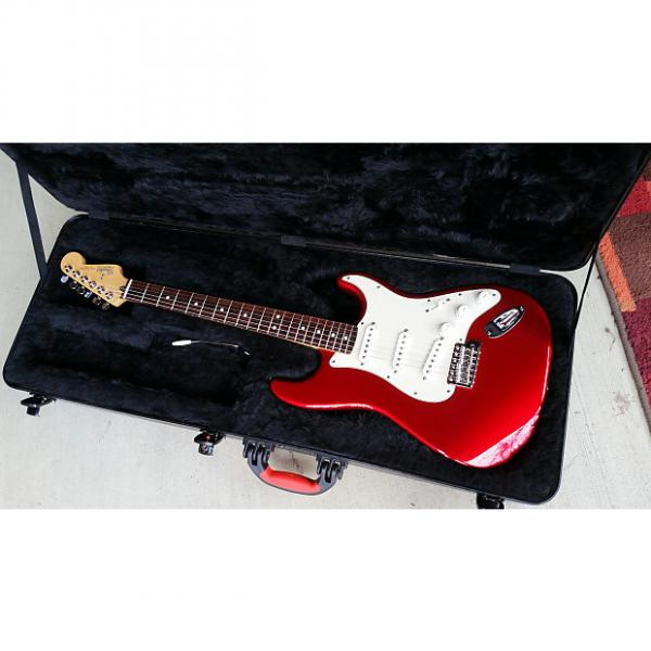 Custom Fender Stratocaster Custom Partscaster Candy Apple Red w/ DiMarzio Pickups #1 image