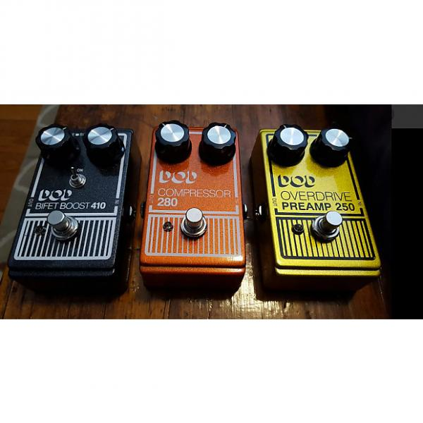 Custom DOD Pedal Lot Compressor 280 Preamp 250 Bifet Boost #1 image