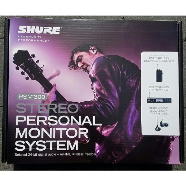 Custom SHURE PSM 300 Stereo Personal Monitor System BRAND NEW!!!! #1 image