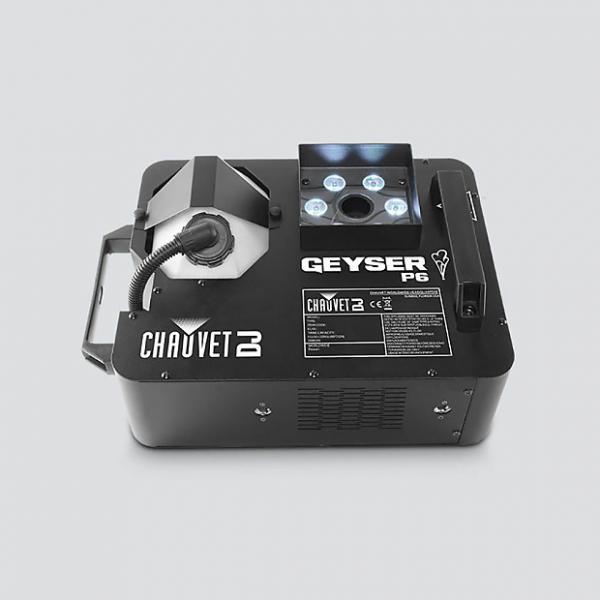 Custom Chauvet Geyser P6 - 6-LED Penta-color Lighting and Fog Effects Fixture #1 image