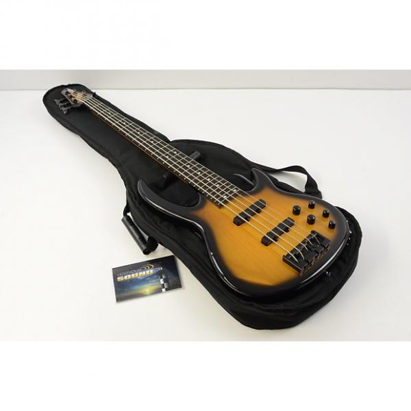 Custom Carvin BB75 Bunny Brunel Signature 5 String Bass Guitar - Sunburst w/Gig Bag #1 image