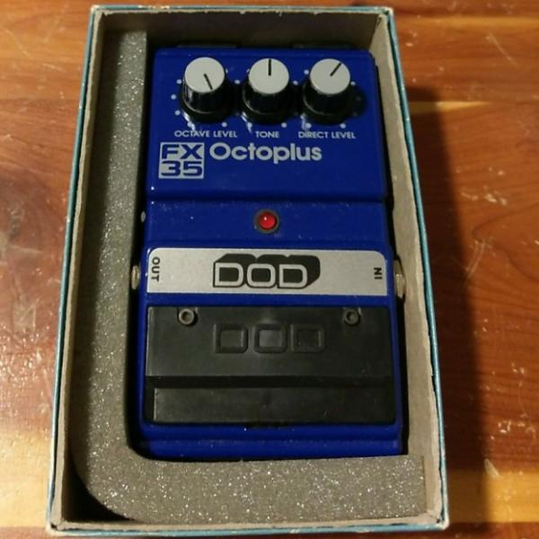 Custom DOD Octoplus FX35 1990's Octave w/Box FREE SHIPPING #1 image