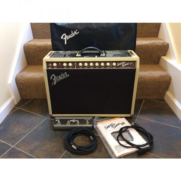 Custom Fender Super-Sonic 22 Blonde #1 image