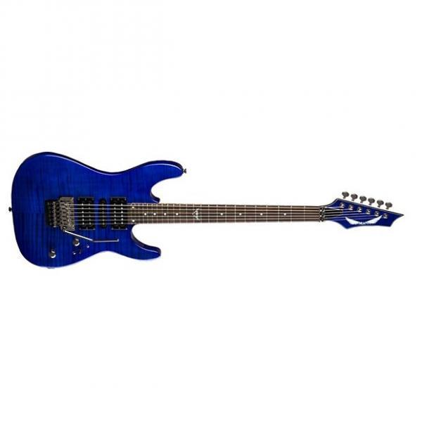 Custom Dean Custom 380 Floyd Electric Guitar Trans Amberburst #1 image