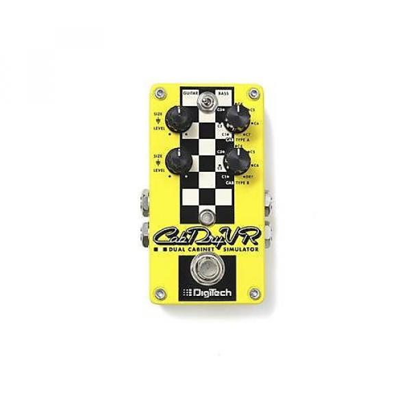 Custom DigiTech CabDryVR Dual Cabinet Simulator Guitar/Bass Effect Pedal #1 image