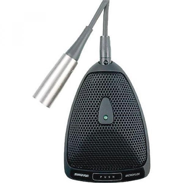 Custom Shure MX393/O Microflex Omnidirectional Boundary Microphone #1 image