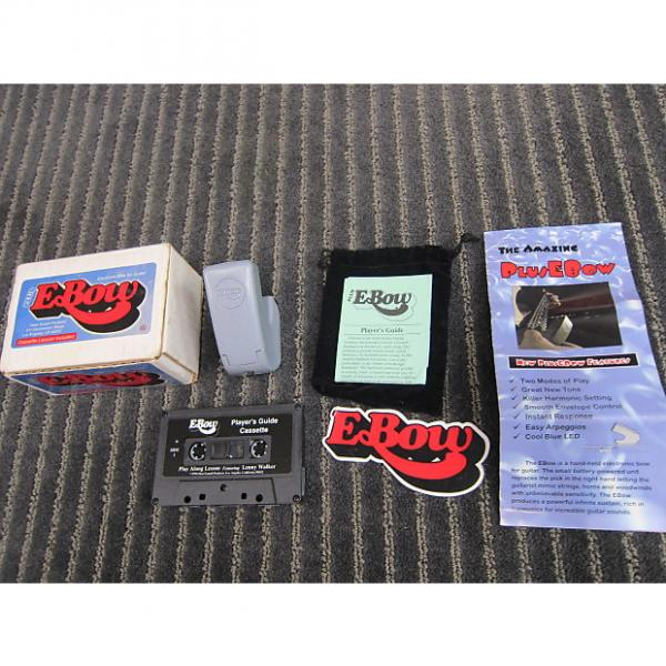 Custom Ebow Plus Guitar Bow Sustain Box, Manual, Sticker, Pouch, Cassette, Versatile, very cool, Unused Gray #1 image