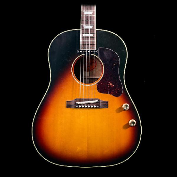 Custom Gibson Limited Edition J160e 1962 Reissue VOS w/ Case - Pre-owned in excellent condition! #1 image