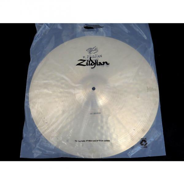 Custom Zildjian K1060 20'' K Constantinople Bounce Ride Cymbal 2016 Midwest Show Demo #1 image