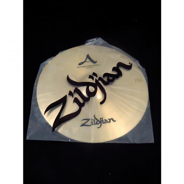 "Custom Zildjian A0232 18"" Medium Thin Crash Cymbal 2016 Midwest Show Demo #1 image"