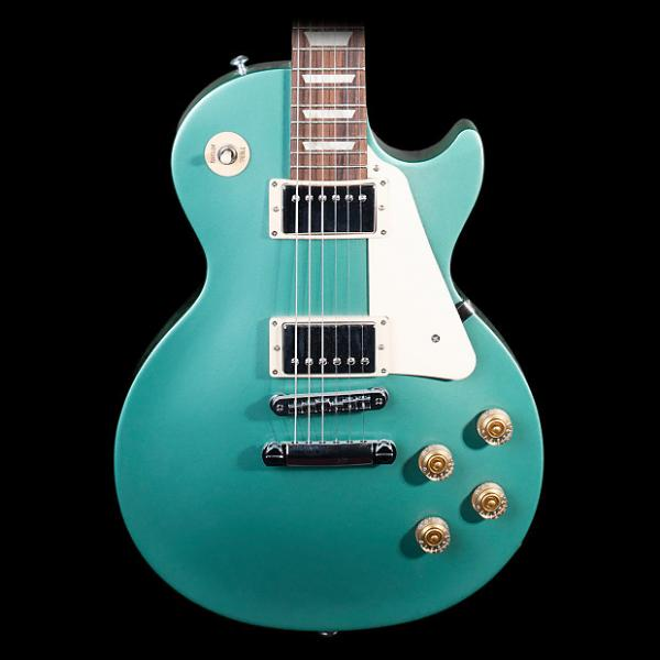 Custom Gibson Les Paul Studio 2016 T Electric Guitar, Inverness Green - Pre-Owned in Excellent Condition #1 image