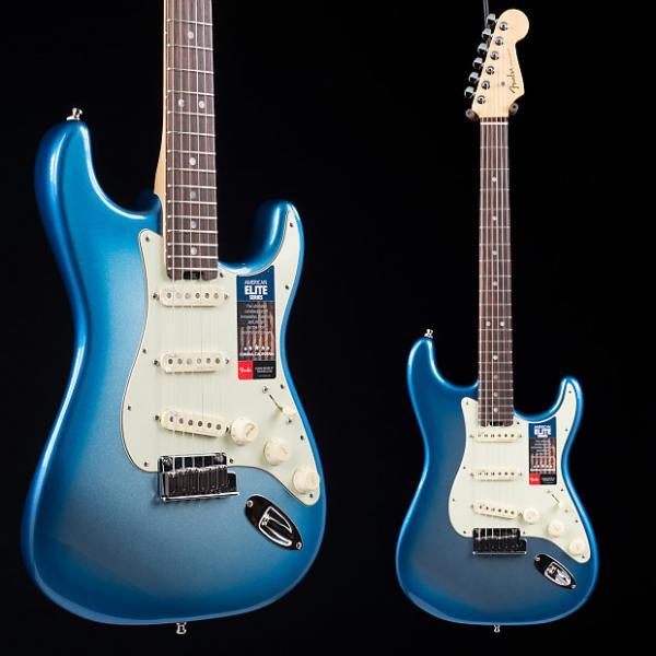 Custom Fender American Elite Stratocaster Sky Burst Metallic 2934 #1 image