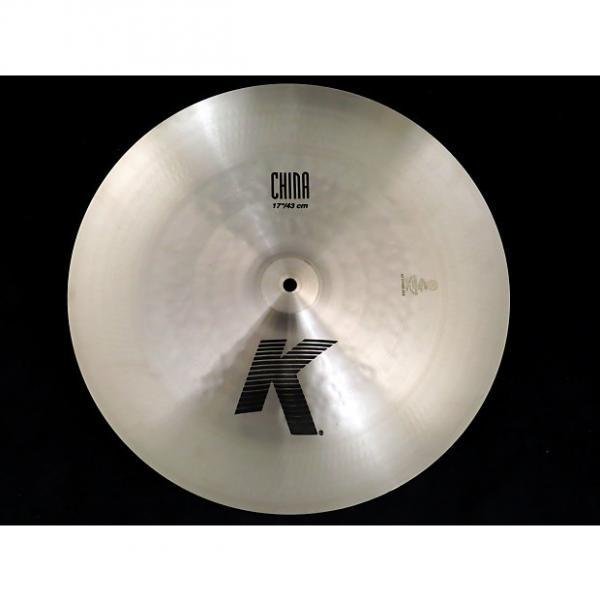 "Custom Zildjian K0883 17"" K China Cymbal 2016 Midwest Show Demo #1 image"