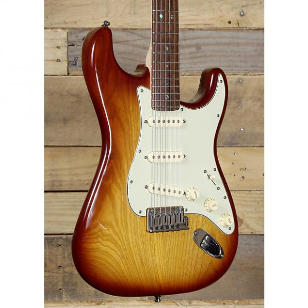 Custom Fender 2009 Deluxe Ash Stratocaster Electric Guitar w/ Case #1 image