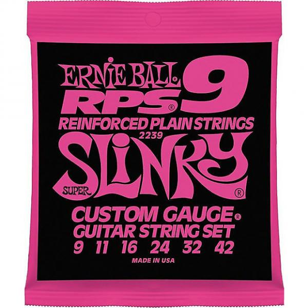 Custom Ernie Ball 2239 RPS Super Slinky Nickel Wound Electric Guitar Strings 9-42 #1 image
