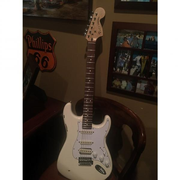Custom Fender Stratocaster 2002-2008 White Light Relic #1 image