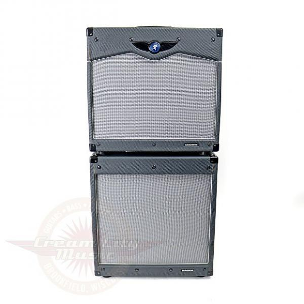 Custom 2008 Mackie Hotwire VT12 Mode Switching 120W 1x12 Hybrid Tube Combo Amp & EX12 Cabinet #1 image