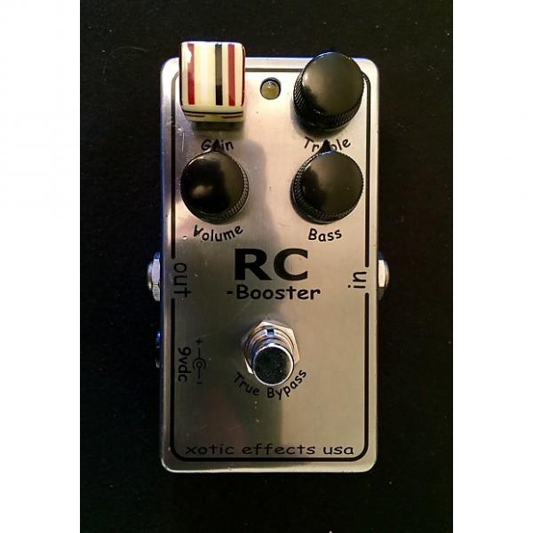 Custom Xotic RC Booster (older limited edition chrome) #1 image