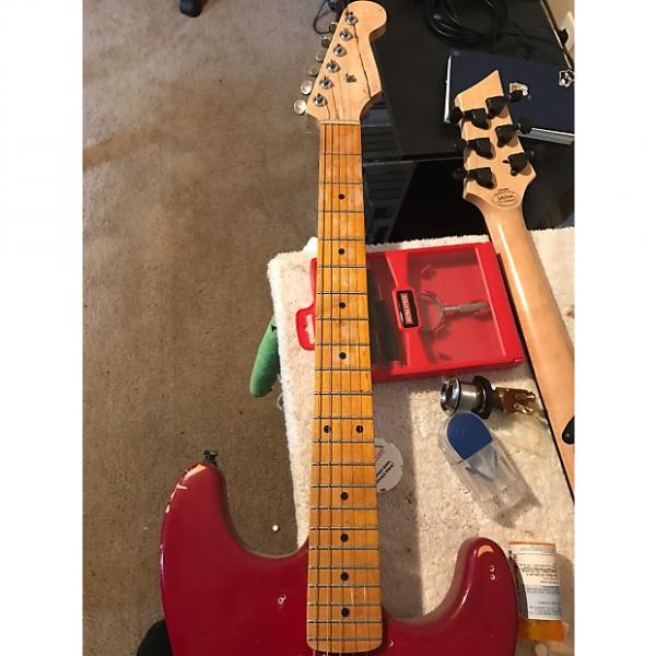 Custom Neck Strat style maple  Maple #1 image
