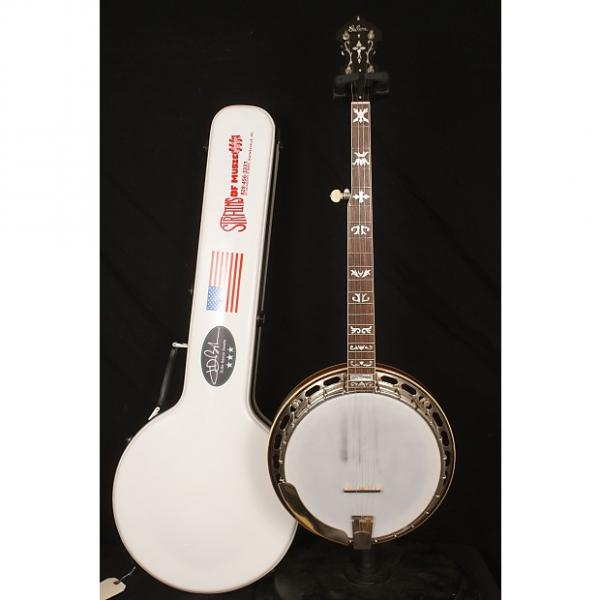 Custom 1929 Gibson TB3 conversion 5 string flathead banjo with a hardshell case #1 image